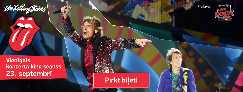 The Rolling Stones koncerts (baneris)